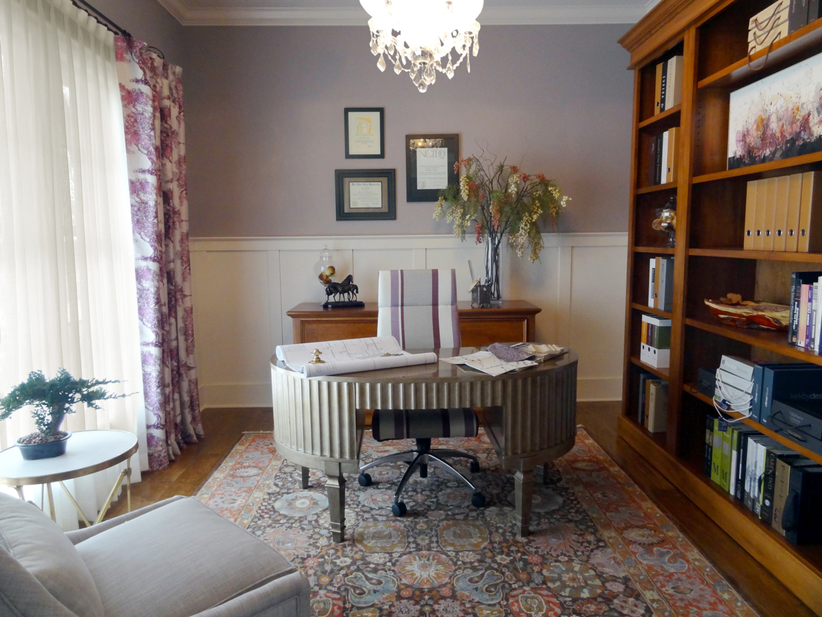 Stimulating Home Office Interior Designs. Home Office Designed For Work And  Panache