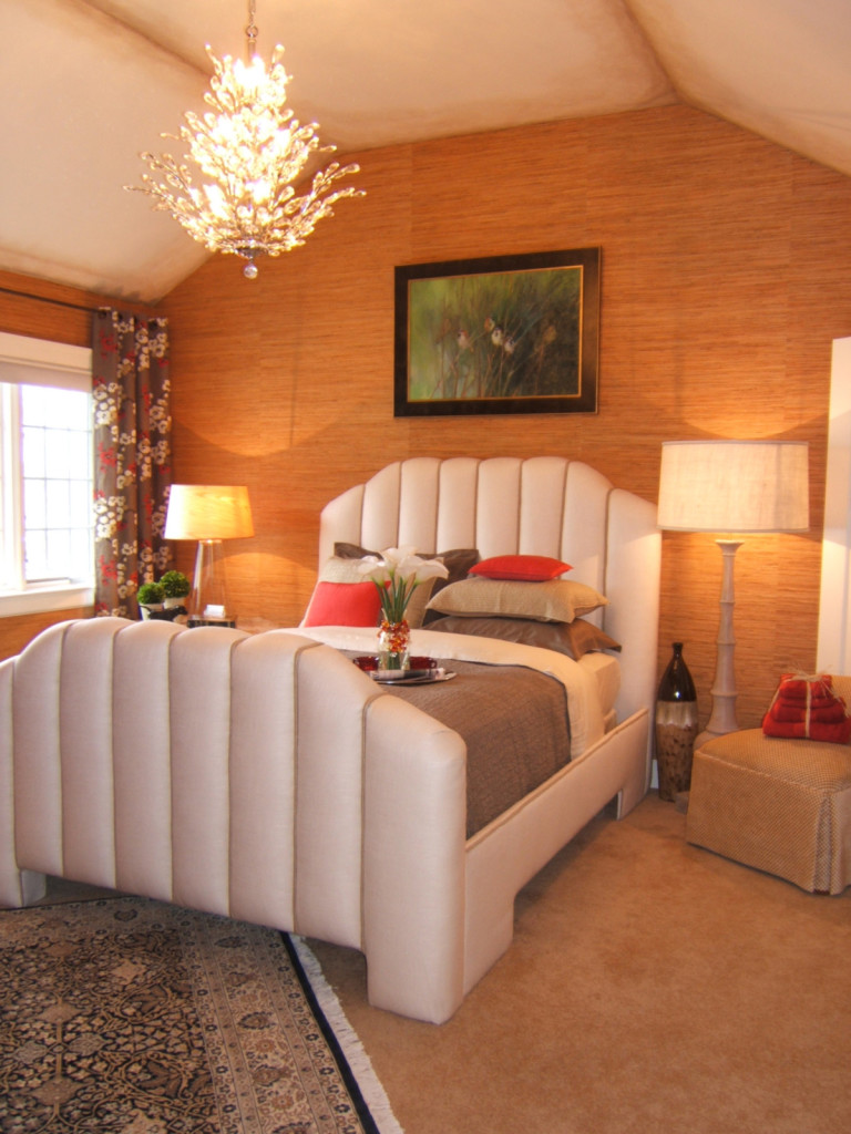 A Showcase Decorator Design Bedroom in Upper Arlington